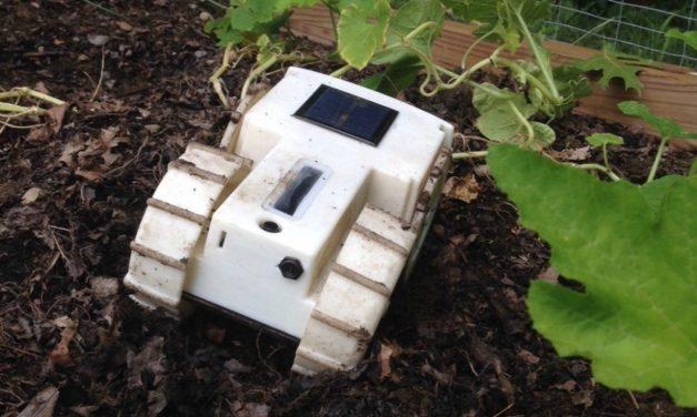 Weeding Robot = Organic Weed Control