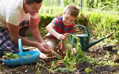Gardening Kids Learn Sustainable Living