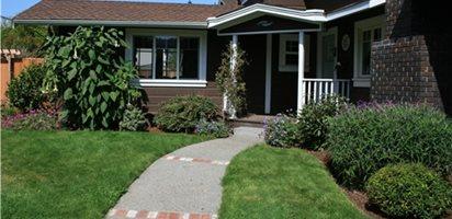 Front Yard Curb Appeal Garden Design Calimesa, CA