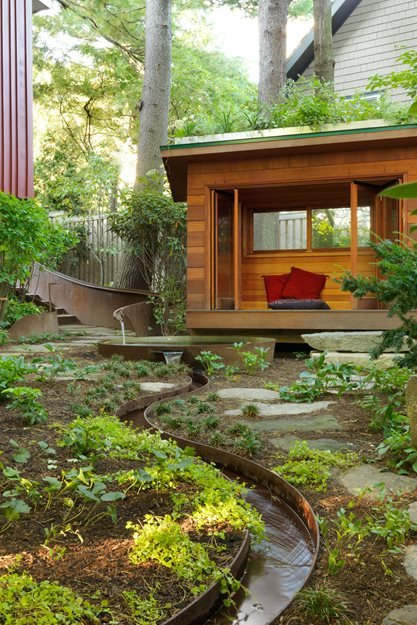 Modest Meditation Garden | Garden Design on Meditation Patio Ideas  id=27067