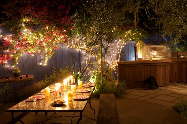 Laura Morton's Moorish-Inspired Outdoor Kitchen | Garden ... on Magical Backyard Ideas id=58013