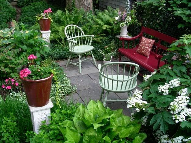 Small Garden, Big Interest - Gallery   Garden Design on Small Landscape Garden Design  id=80186
