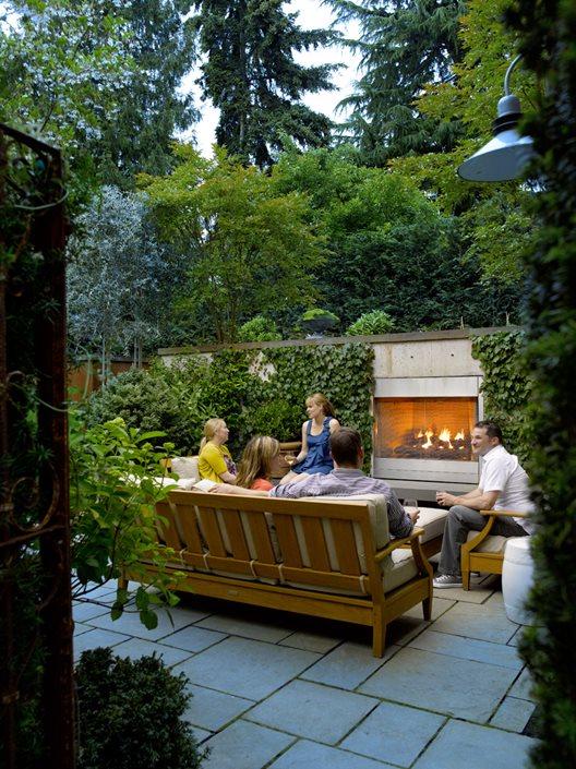 Terraced Urban Garden Sanctuary Garden Design