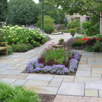 Flagtone Patio - Brick Patio - Allentown Hardscaping ... on Rectangle Patio Ideas  id=30957