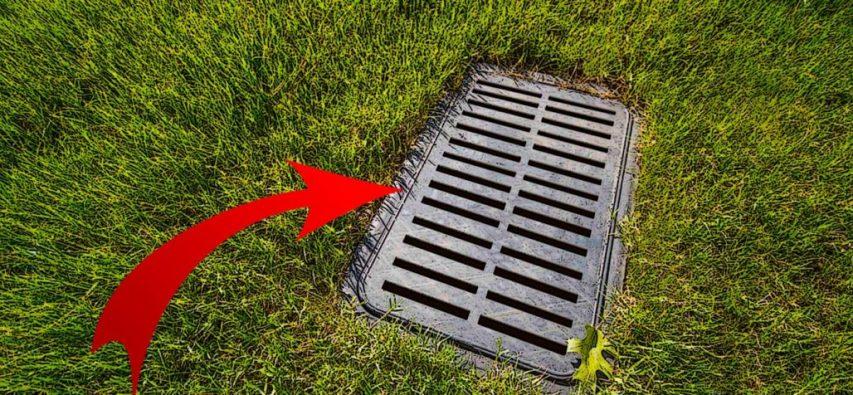 landscape drain
