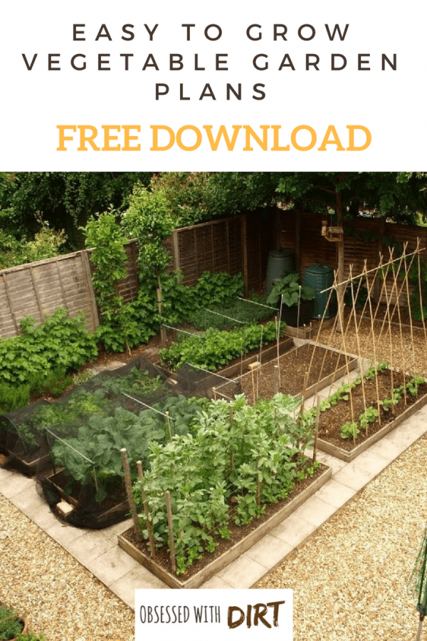 Free Vegetable Garden Layout, Plans and Planting Guides on Backyard Layout Planner  id=73606