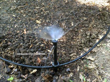 Gardener's Supply Garden Sprinkler System
