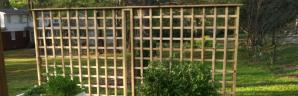How to Build a Trellis Wall