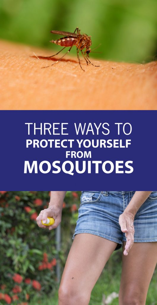 3 ways to protect yourself from mosquitoes