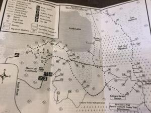 Loda Lake Trail Map