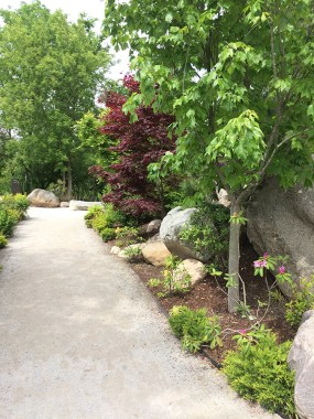 Main path in the Japanese Garden