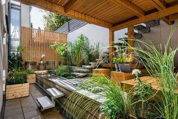 patio oasis garden
