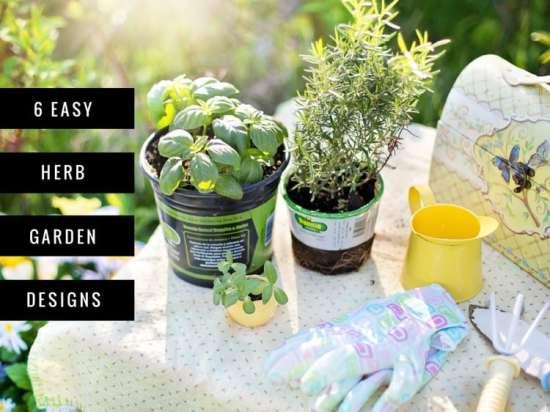 six easy herb garden designs - Herb Garden Design Ideas