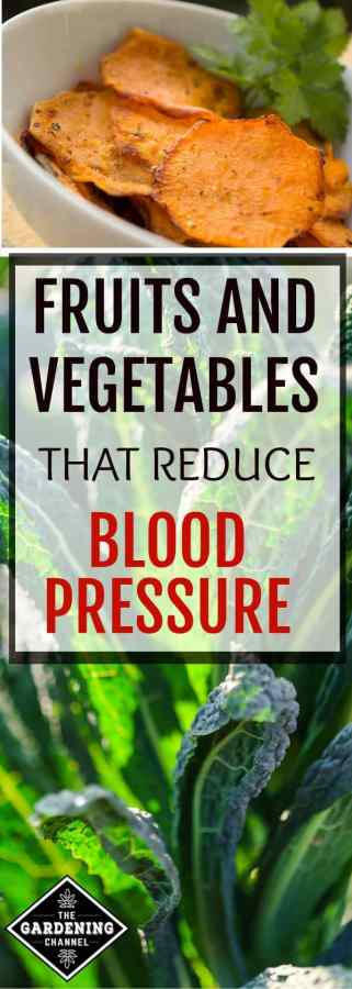 fruits & vegetables that reduce blood pressure