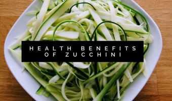 Zucchini Health Benefits