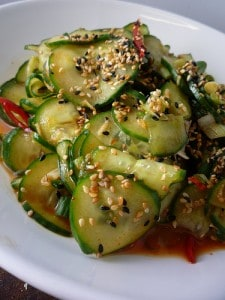 Healthy Cucumber Salads
