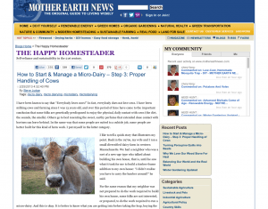 happy homesteader gardening blog