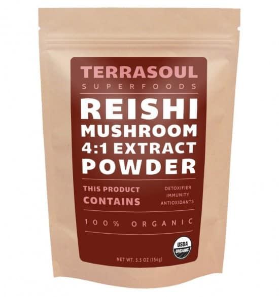 Reishi Mushroom Powder for Mushroom Tea