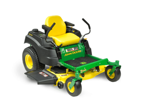 john deere zero turn riding mower z445