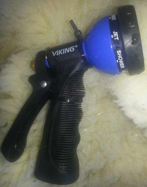 viking garden hose spray nozzle
