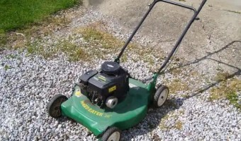 weedeater briggs and stratton 20 inch gas push lawnmower