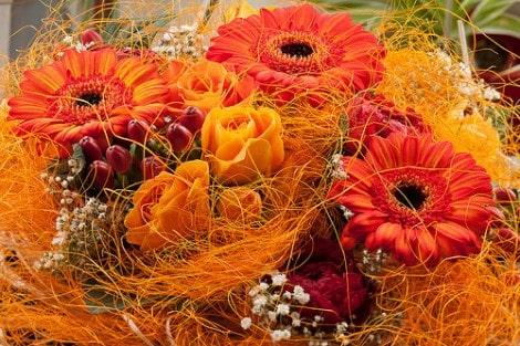 november wedding flowers