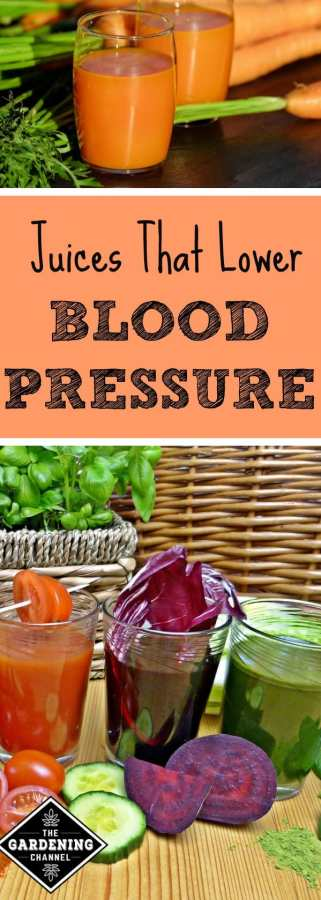 juices that lower blood pressure