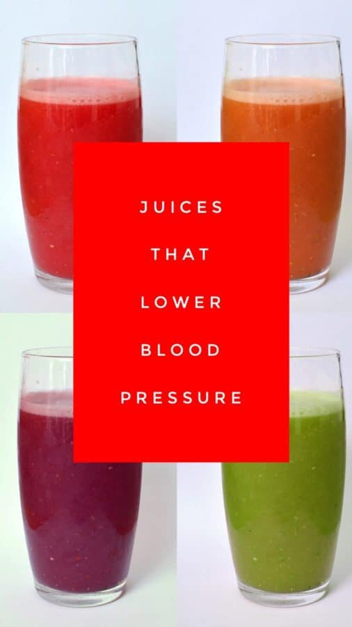 healthy juices to reduce blood pressure