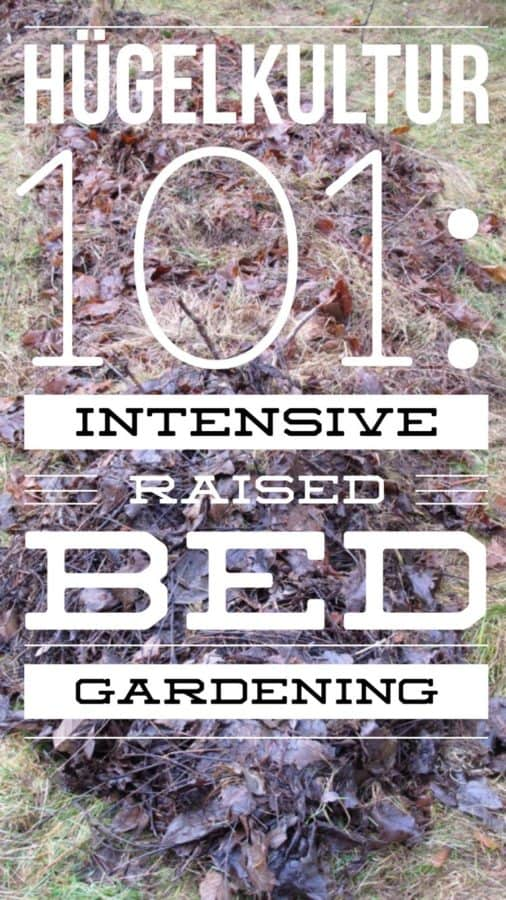 Learn how to build an amazing hugelkultur raised bed vegetable garden with this DIY guide.