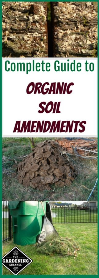 organic soil amendments