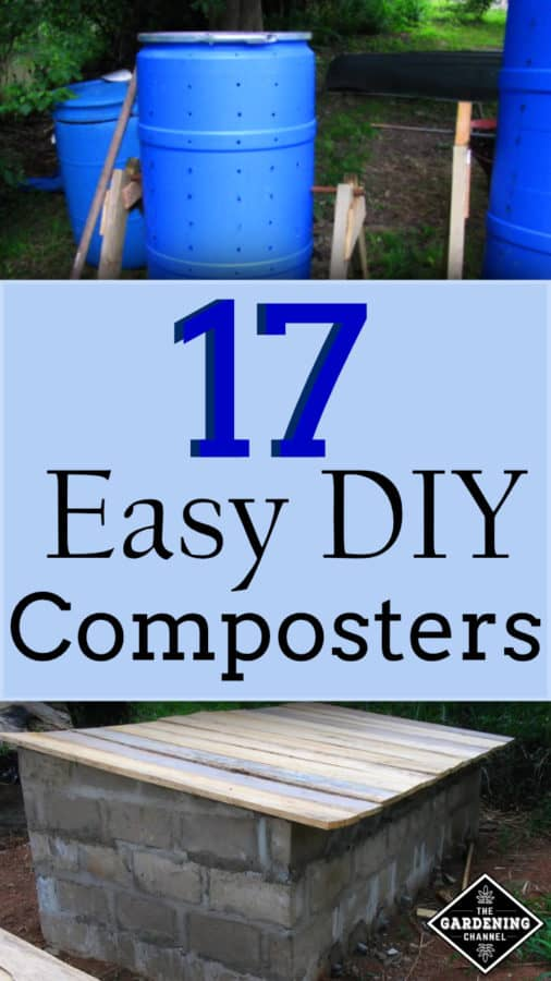 DIY easy composters you can build