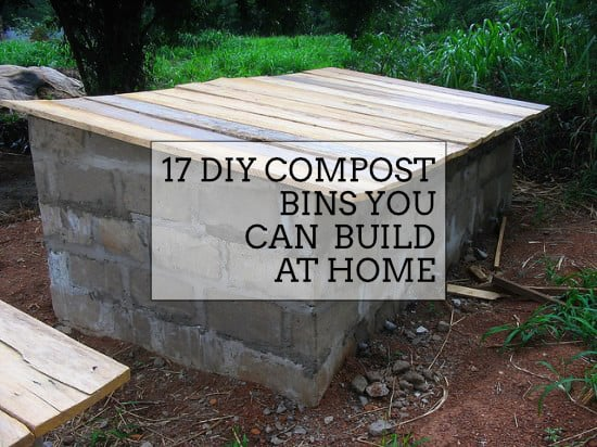 DIY compost bins you can build