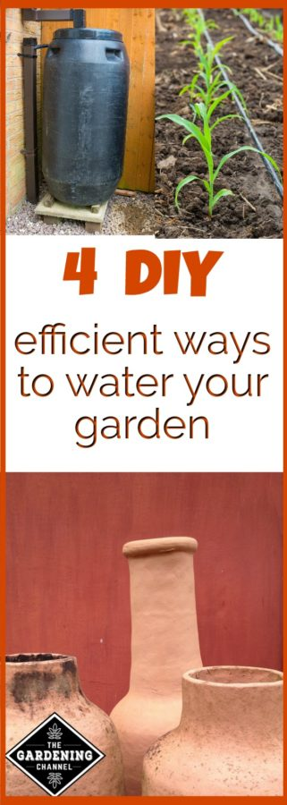 Efficient ways to water garden
