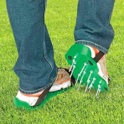 Strap-on Lawn Aerators