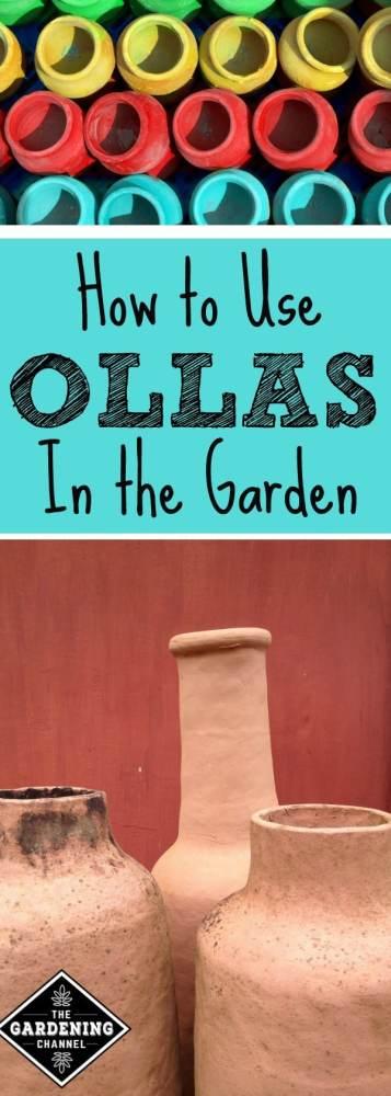 Using Ollas in the garden