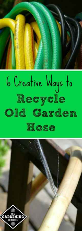 Recycle garden hose
