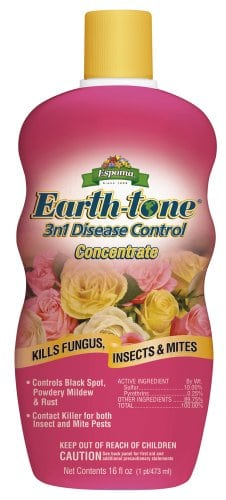Earth-tone 3n1 for aphid control