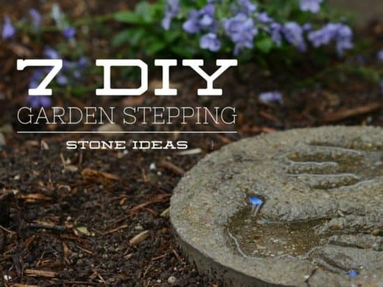Seven Cool Ideas for Making Your Own Garden Stepping Stones