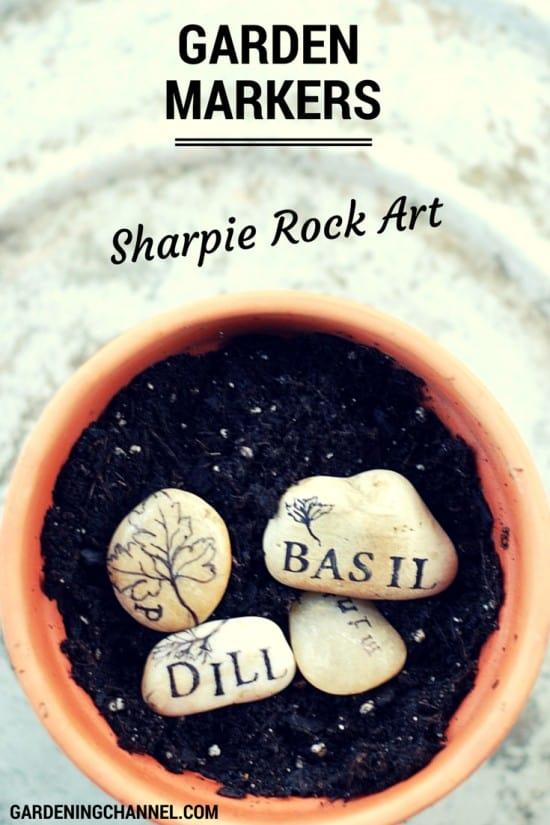 How to Make Sharpie Rock Garden Markers