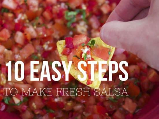 10 Steps to Making Fresh Garden Salsa