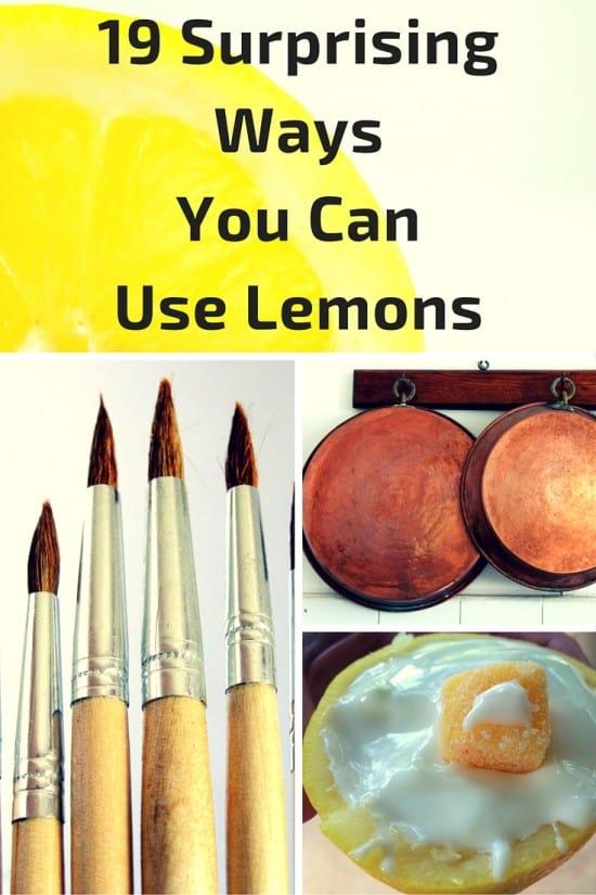 19 ways to use lemons