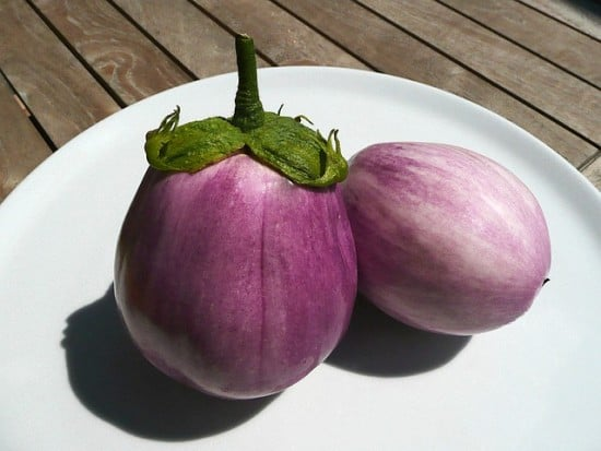 Fun Heirloom Vegetables Eggplant