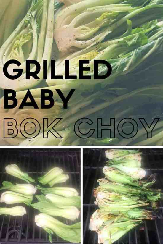 How to Grill Baby Bok Choy