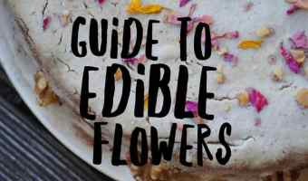 guide to cooking with edible flowers