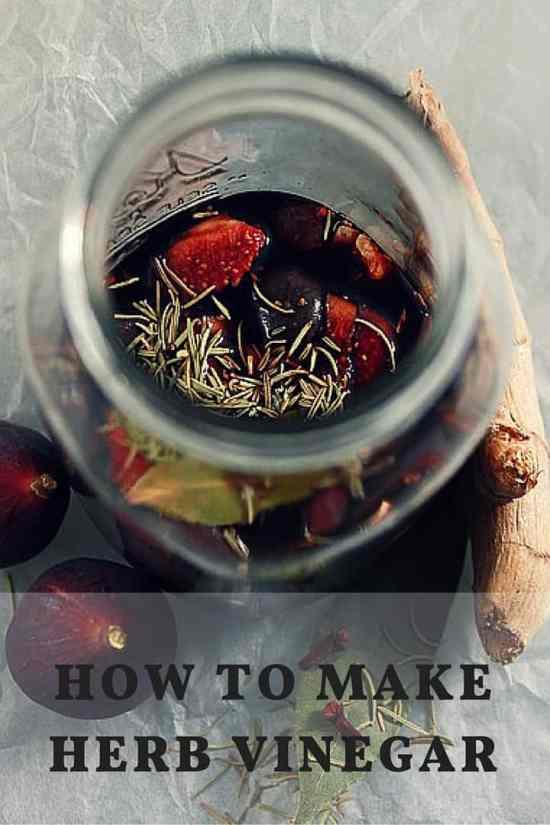 Making Herbal Vinegar