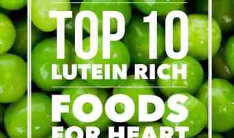 List of lutein rich vegetables and foods