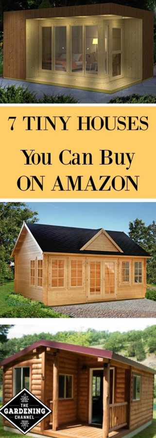 7 awesome tiny houses you can buy on amazon gardening channel. Black Bedroom Furniture Sets. Home Design Ideas