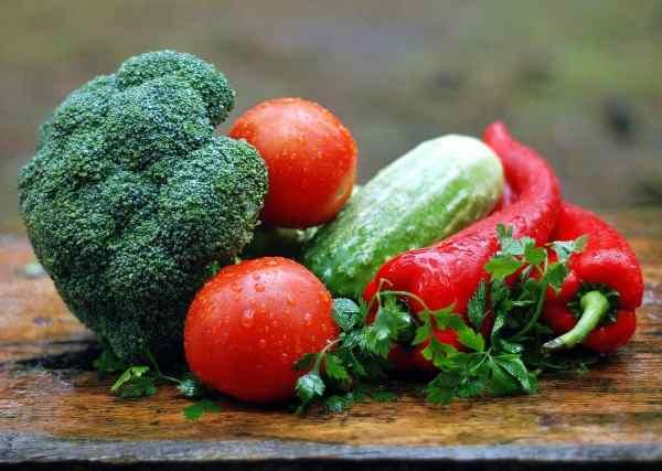 broccoli fresh harvest vegetables