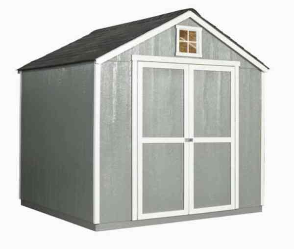 lowes heartland garden shed