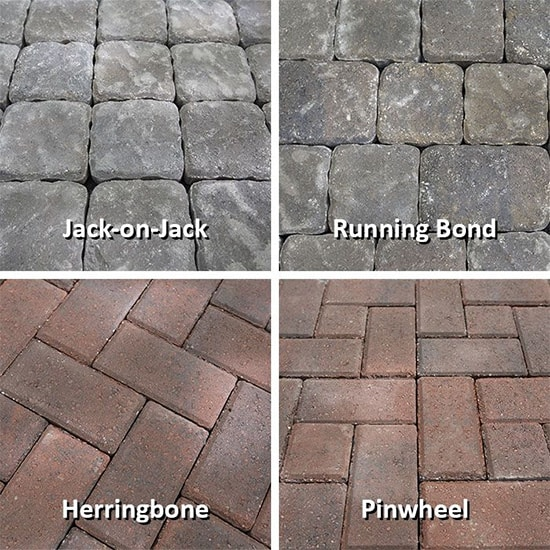 DIY patio bricks